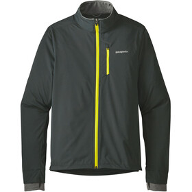 Patagonia M's Wind Shield Hybrid Softshell Jacket Carbon